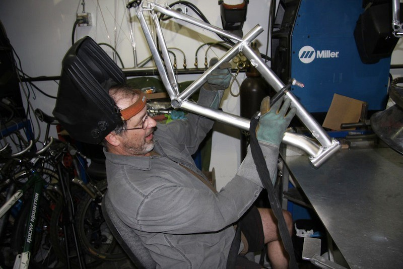 Master welder Al Kowalchuk has spent most of the last 20 years working for Rocky Mountain