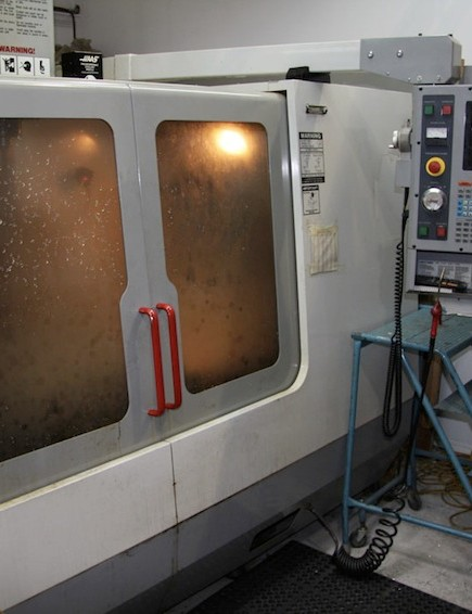 Rocky's in-house CNC machine is used for tooling and small-part prototyping. This allows them to concept an idea in the morning and have it in their hands in the afternoon