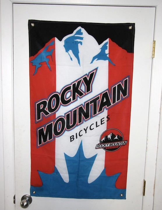 Vintage signage belays Rocky's old school roots