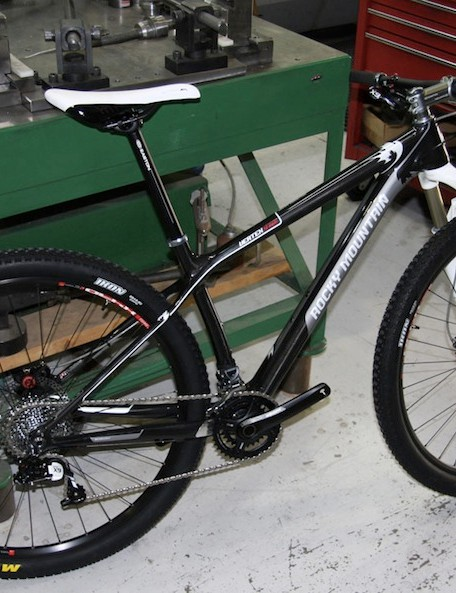 Rocky Mountain just unveiled its new carbon 29er hardtail, the Vertex RSL