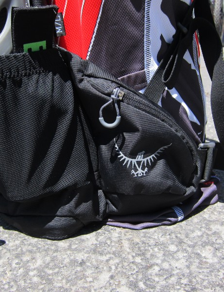 Larger Osprey Zealot packs will include zippered hip pockets for easy access to smaller items