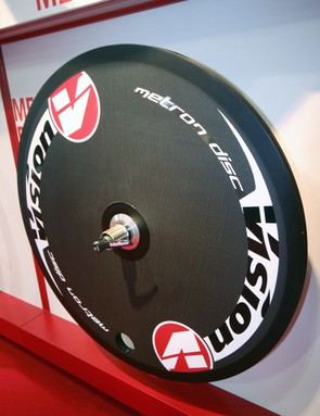 Vision's disc wheel now bears the Metron name and updated graphics