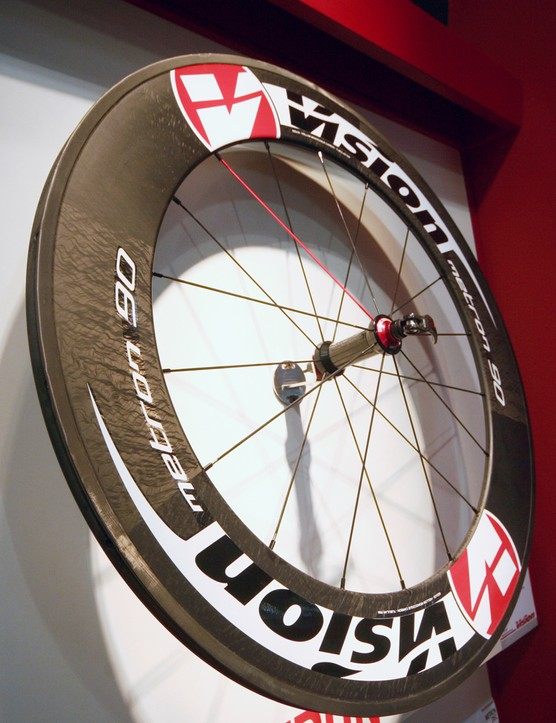 Vision's 90mm-deep tubular gets new graphics for 2012