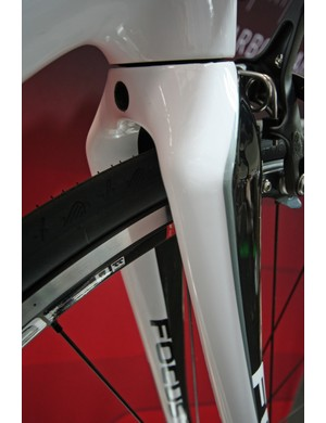 Focus's new broad shouldered, highly tapered road fork