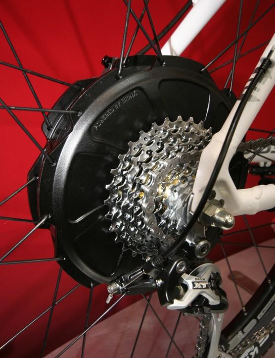 The 250w BionX rear wheel motor