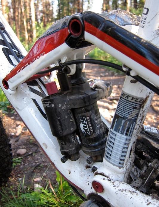 Heart of the bike, Fox's co-developed Dyad RT2