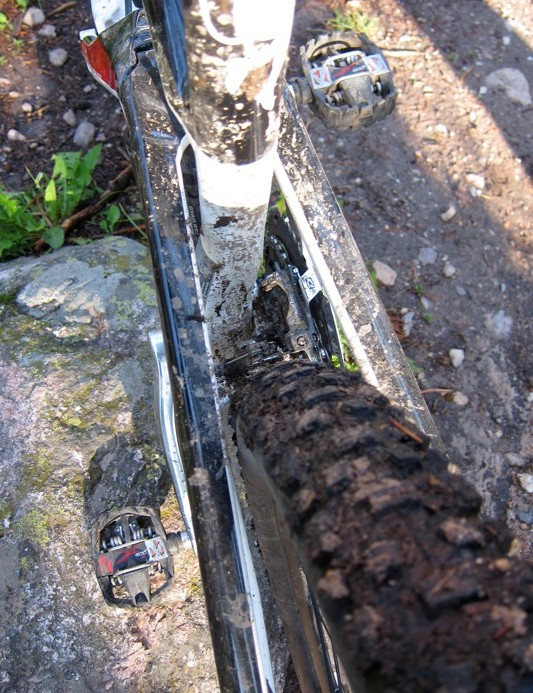 Great clearance around the 2.4in Schwalbe Nobby Nics