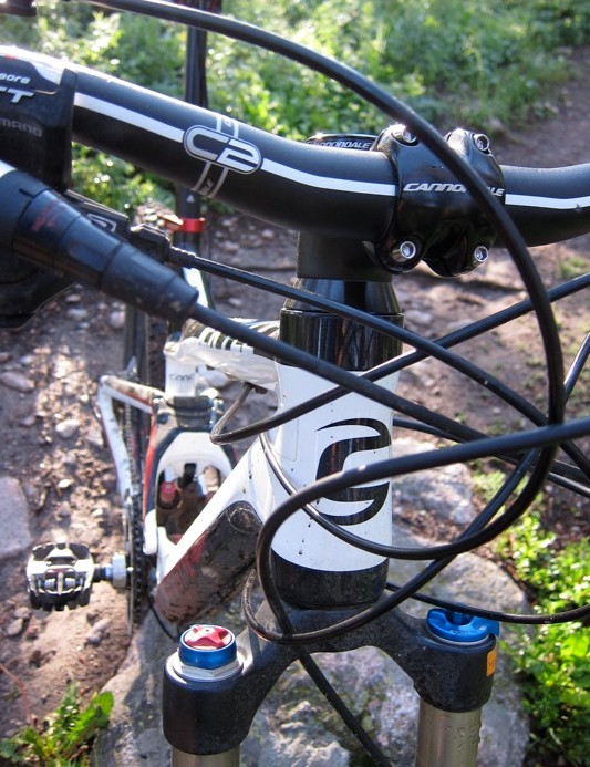 The C2 bar was reasonably stiff and offers a good bend, but it's narrow for the Jekyll