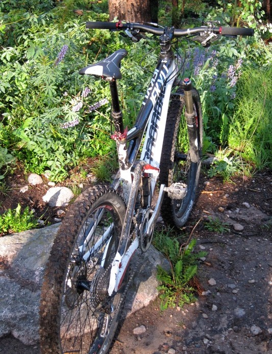 We had fun on the Jekyll no matter where we rode it: cross-country to bike park
