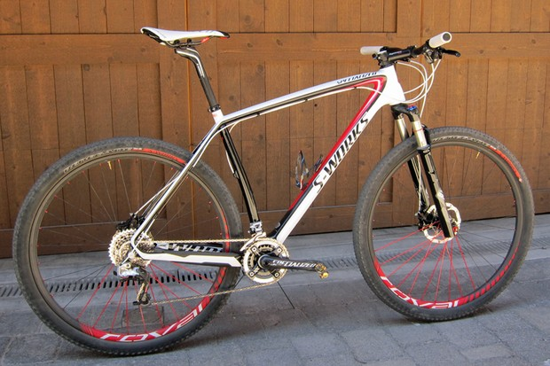 Todd Wells (Specialized) used this Specialized S-Works Stumpjumper 29er to secure his second consecutive US national cross-country title