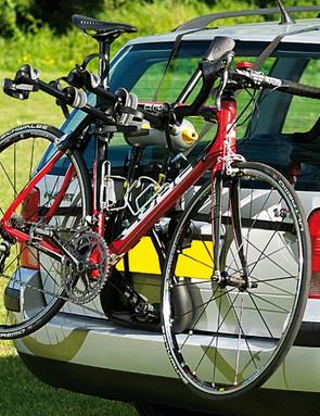 Installing bikes is pleasingly easy too