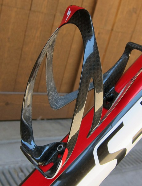 Todd Wells (Specialized) ran a single Specialized S-Works Carbon Rib Cage during the cross-country race