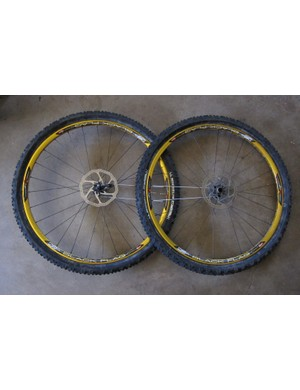 Sun Ringle's Black Flag Pro wheelset