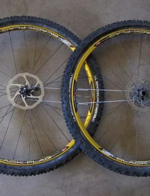 Sun Ringle's Black Flag Pro wheelset