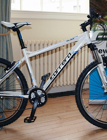 The Carrera Valour at £299 is the base-model mountain bike