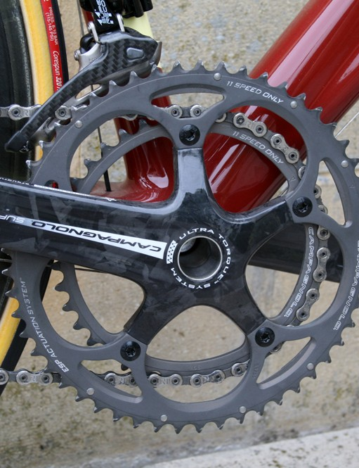 Campagnolo Super Record 11 speed cranks