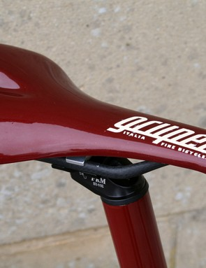 Even the saddle is in theme