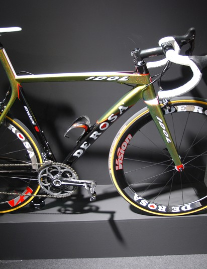 "The De Rosa ""Idol"" is a bike that one could very easy come to worship"