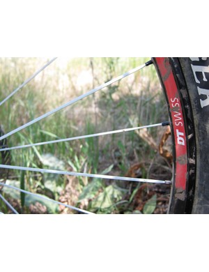 Another look at the large gauge New Aero drive side spokes