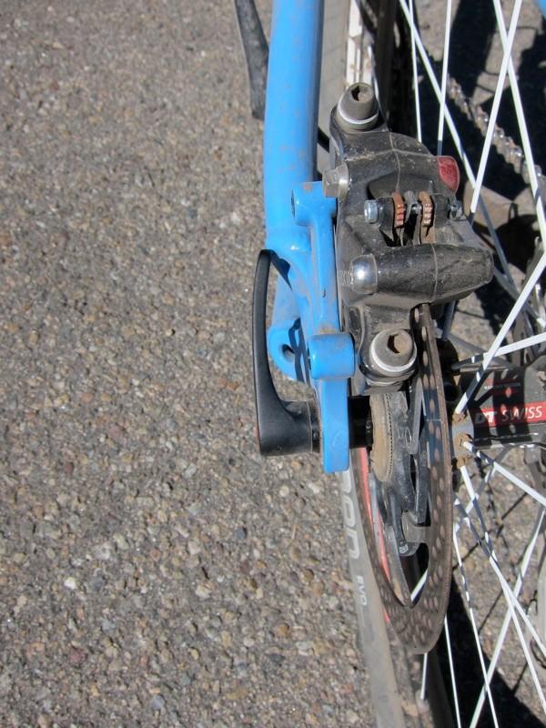 DT's RWS thru-bolt lever bottomed out on some frames