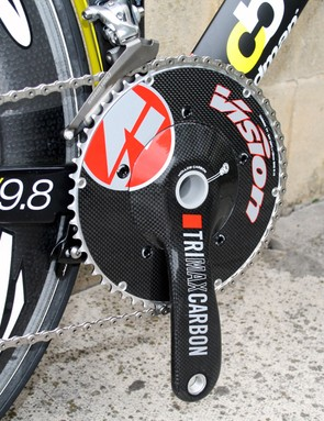VisionTrimax BB30 crankset with 54/42t chainrings