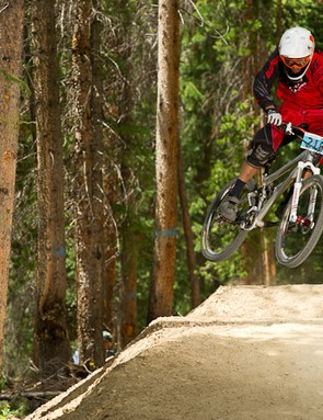 Winter Park's Air Downhill was held on the Rainmaker trail Colorado's answer to Whistler's A-line