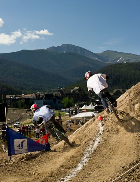 Crankworx Colorado dual slalom action