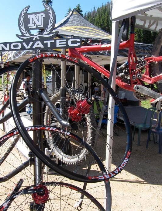 NovaTec's Diablo freeride wheelset