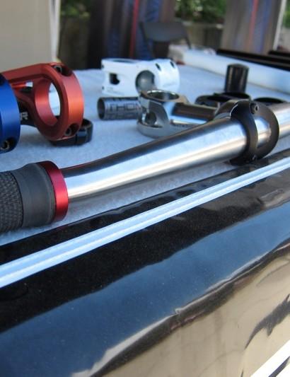 Thomson's prototype titanium handlebar