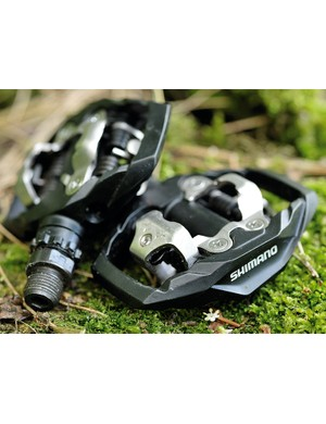 Shimano M530 Trail pedals