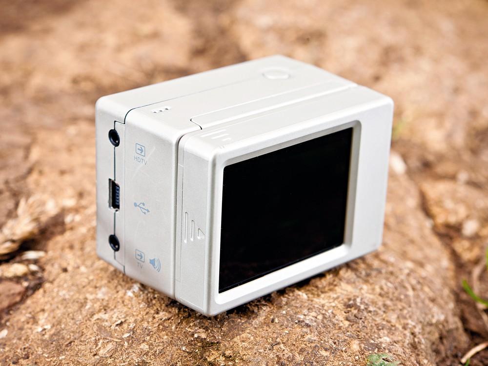 GoPro BacPac camera screen