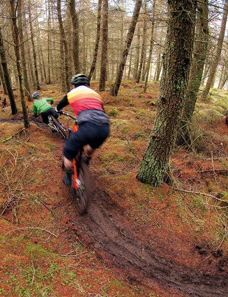 Explore a little further and you'll find mile after mile of loam and rock-filled natural dream trails