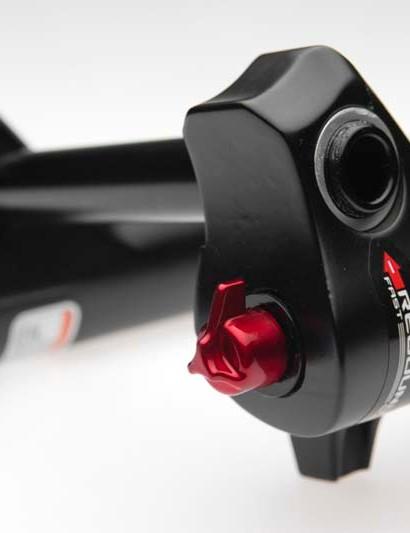 Rebound adjuster on the new CR model