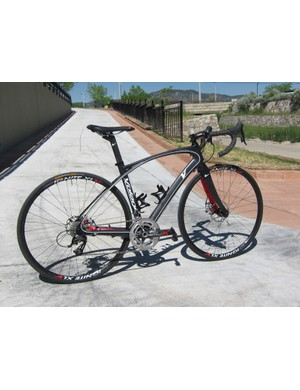 The Volagi Liscio is one of just a few higher-performance road bikes available with disc brakes but it's a virtual guarantee that this is only the beginning of a much bigger trend to come