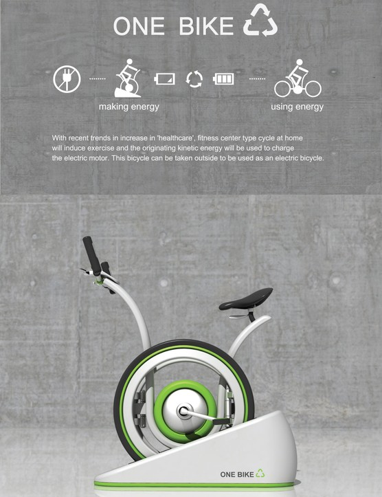 OneBike concept bike