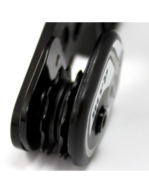 The dual pulley design is said to offer better chain retention and run quieter