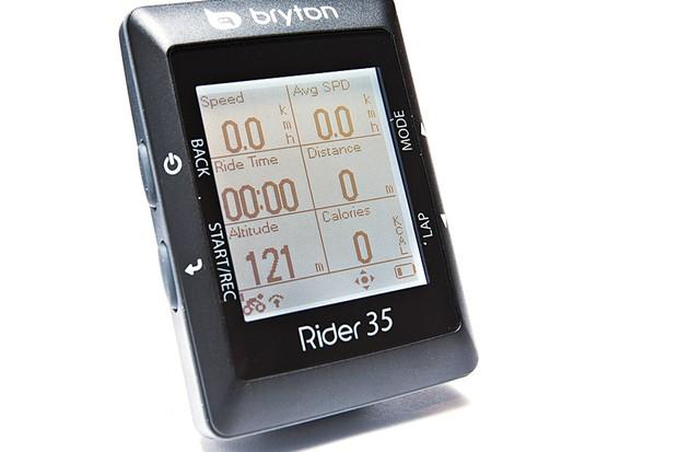 Bryton Rider 35T GPS computer