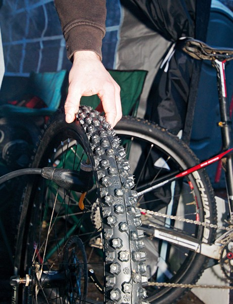 Ice tyres – any Strathpuffer competitor's new best friend