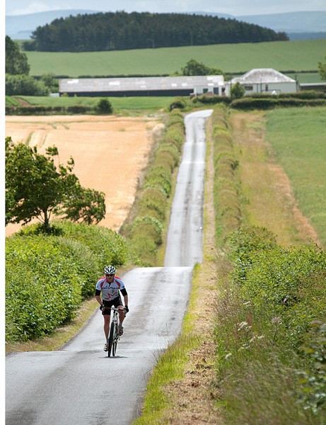 You'll have the quiet country lanes largely to yourself