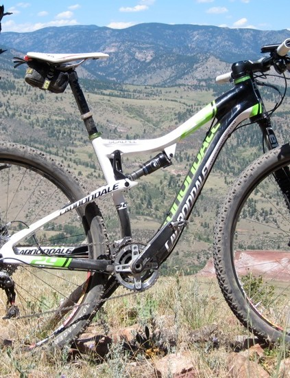 Tim Johnson's medium Cannondale Scalpel 29