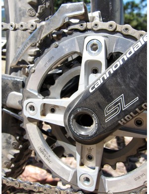 Cannondale make an XX compatible spider for their Hollowgram crank
