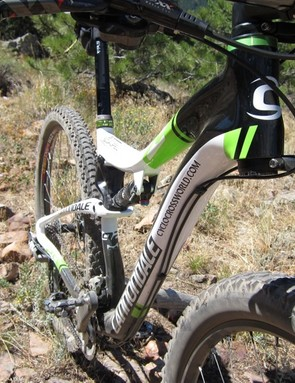 The swoopy lines of Cannondale's new Scalpel 29er