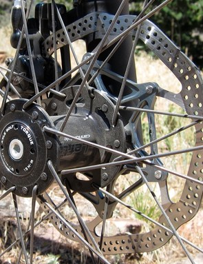 NoTubes.com offer ZTR Race Gold wheelsets with Lefty front hubs