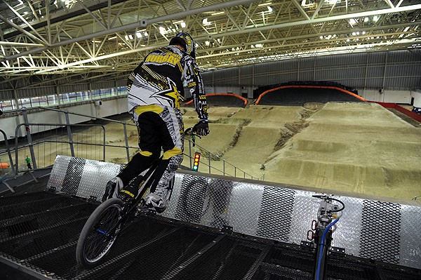 The £24m National BMX Centre