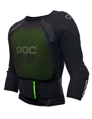 POC's Spine VPD 2.0 jacket ($300) a complete upper body system that is said to fit under a t-shirt