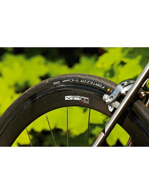Deep section wheels add speed but not a lot of comfort