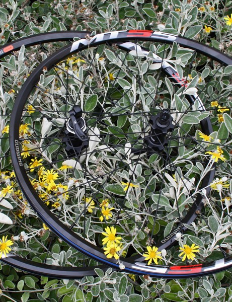 Shimano MT55 wheelset