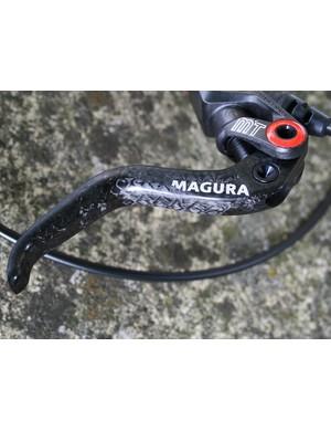 Magura MT8 disc brake - lever