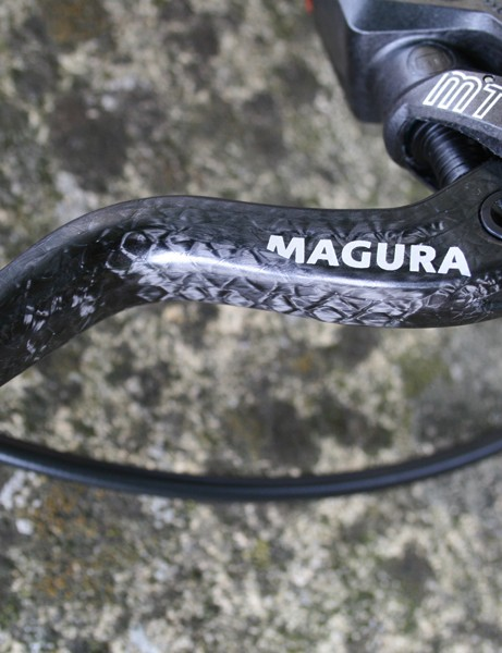 Magura MT8 disc brake - lever