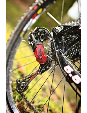 SRAM's X9 rear mech is a sign of value and quality